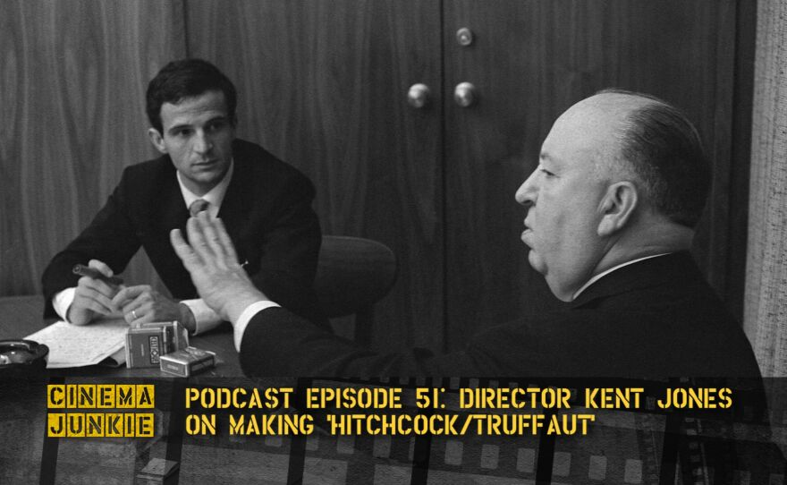 """The famous interview between Alfred Hitchcock and Francois Truffaut is now the subject of the new documentary by Kent Jones, """"Hitchcock/Truffaut."""""""