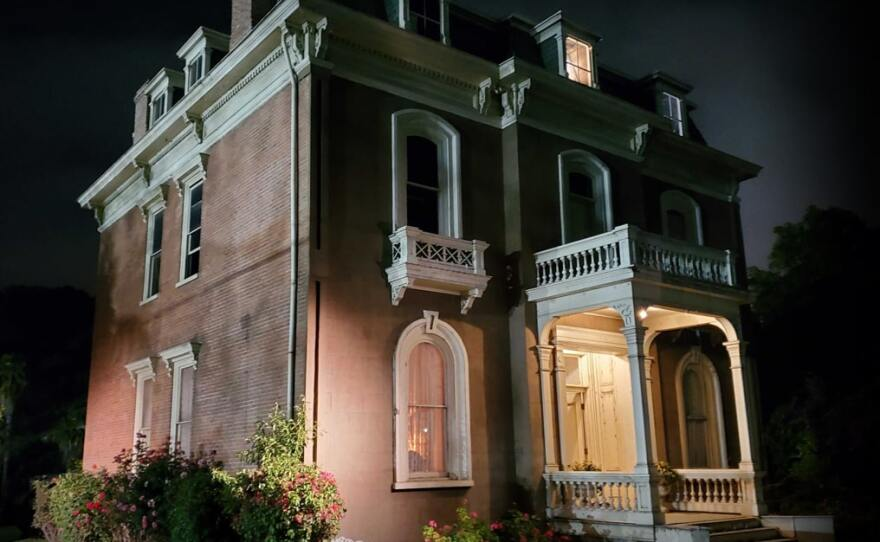 """The Pomona mansion being used for the setting of this year's """"Delusion: Reaper's Remorse."""""""