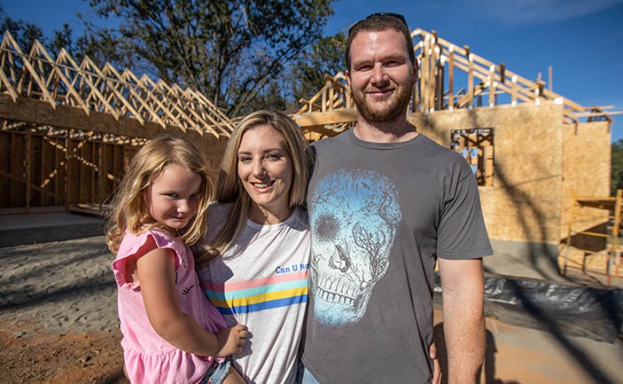 Joe Avonlea (right) and family are featured in REBUILDING PARADISE On THIS OLD HOUSE.