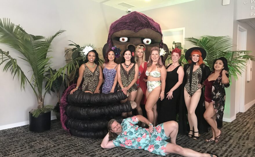 The 2021 contestants for the Miss Tiki Competition included men for the first time and were renamed Mx Tiki. July 29, 2021