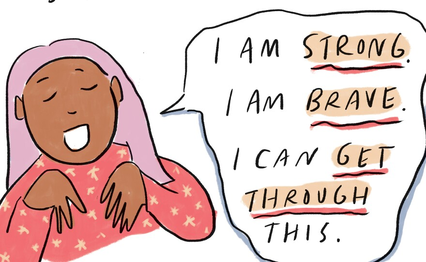 COMIC: A Kids' Guide To Coping With The Pandemic (And A Printable Zine)