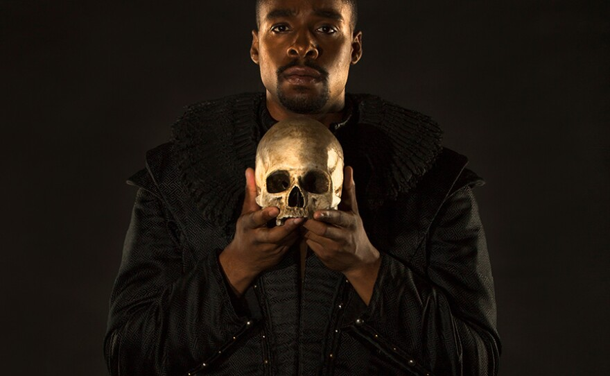 """Actor Grantham Coleman is Hamlet in The Old Globe's audio drama adaptation, """"Hamlet on the Radio,"""" which premieres on KPBS radio on Friday, Apr. 23, 2021."""