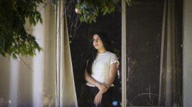 Dalal Erekat at her home in El Cajon on Oct. 14, 2021.