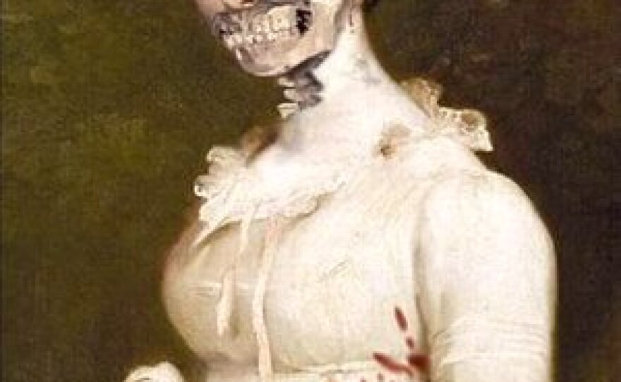 """Cover of the book """"Pride and Prejudice and Zombies."""""""
