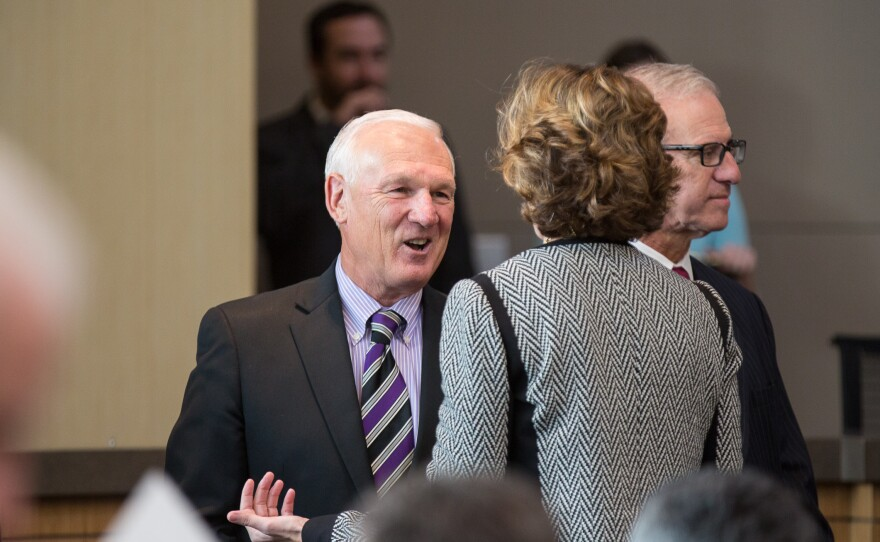 San Diego County Supervisor Ron Roberts at 2014 State of the County Address