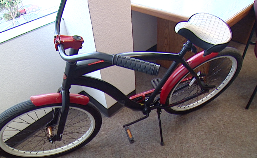 Pictured is a refurbished bike that was given to a former inmate on Feb. 2, 2015.
