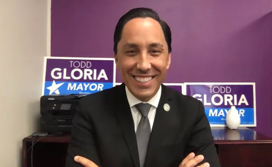 San Diego Mayor-elect Todd Gloria is pictured in a photo on Nov. 11, 2020.
