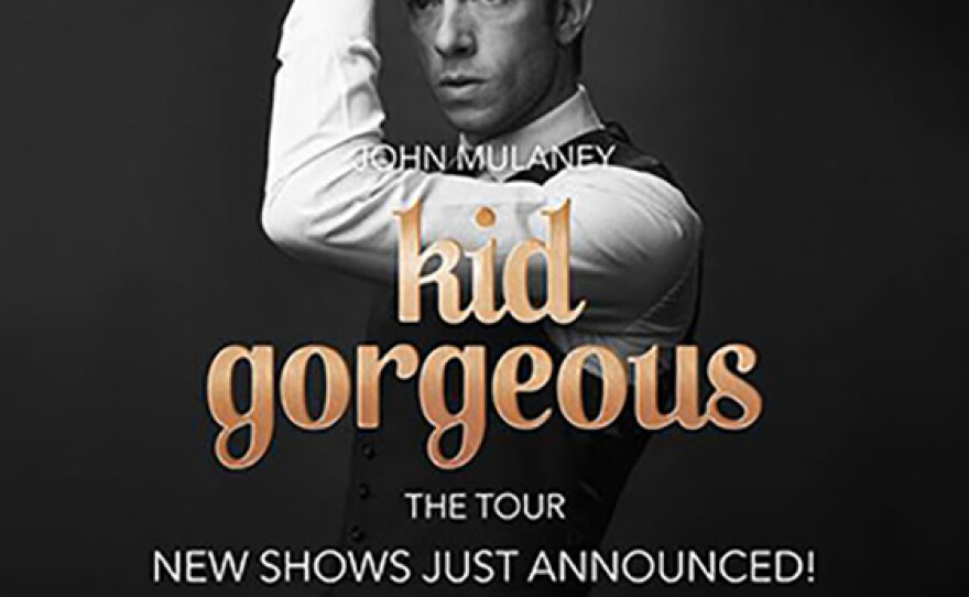 A promotional poster for comedian John Mulaney.