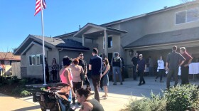Andrew Bottrell's new house on Osceola Avenue in Clairemont, Dec. 12, 2017.