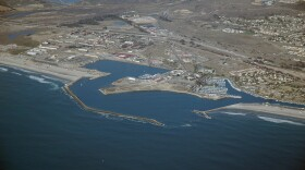 Aerial view of Camp Pendleton Harbor near Oceanside in this undated photo.