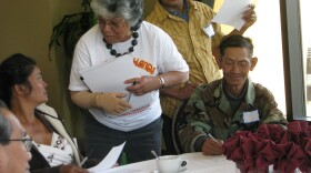 Pan-Asian community members gather to learn to assist with the count for the 2010 Census. The forum was held at the Jacobs Centers in southeast San Diego on March 26, 2010.