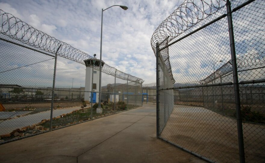 The entrance to the R.J. Donovan Correctional Facility in Otay Mesa is shown in this undated photo.