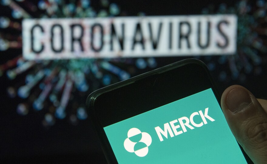 Pharmaceutical company Merck says is shelving its two COVID-19 vaccine candidates, saying that the results of clinical trials fell short of its goals.