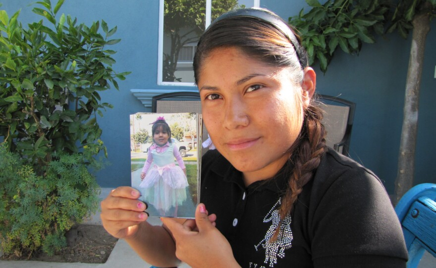 Tania Velasquez, a Mexican national, hopes to regain custody of her 3-year-old daughter, who is a U.S. Citizen.