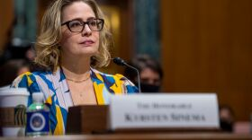 Sen. Kyrsten Sinema, D-Ariz., has expressed opposition to increases in corporate tax rates,  one of the key ways Democrats want to pay for their domestic policy bill. Democrats are looking at alternatives.