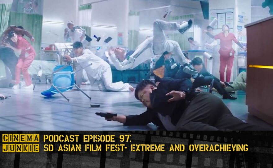 """San Diego Asian Film Festival artistic director Brian Hu talks about defying expectations with films like Johnnie To's """"Three,"""" in which actors had to perform an action scene in slow motion."""