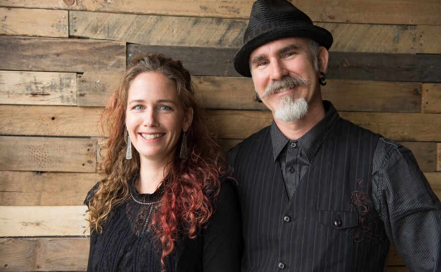 Bridget Rountree and Iain Gunn are the artists behind Animal Cracker Conspiracy, a San Diego-based puppet company.