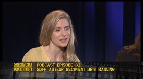 Podcast 33: Actress, writer, and producer Brit Marling is featured in two interviews. She will receive the San Diego Film Festival Auteur Award on Saturday.