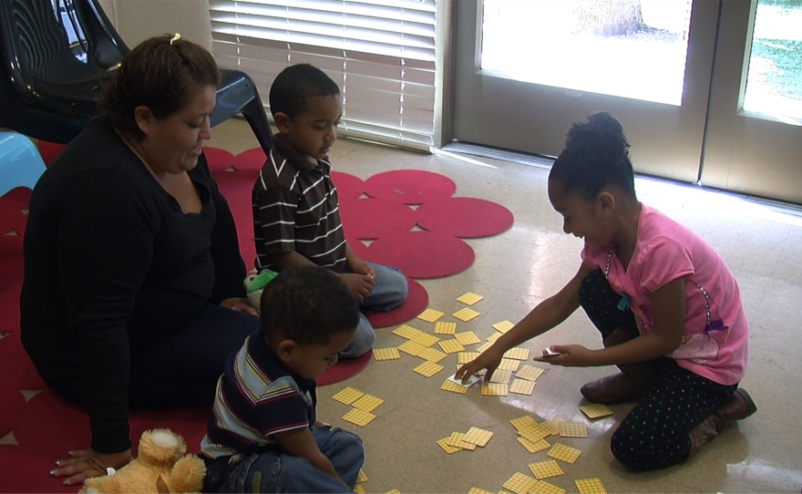 Rocio Turner and her three children recently moved into YWCA Cortez Hill Family Center in downtown San Diego, where they can live for four months.