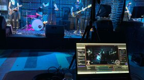 San Diego band Scary Pierre performs to an empty venue at the Casbah on July 25, 2020. The performance was livestreamed for free on Twitch.