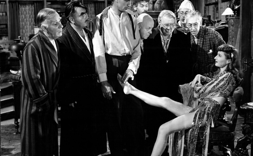 """""""Ball of Fire"""" is part of a collection of Howard Hawks screwball comedies screening during this year's TCM Classic Film Festival Home Edition."""