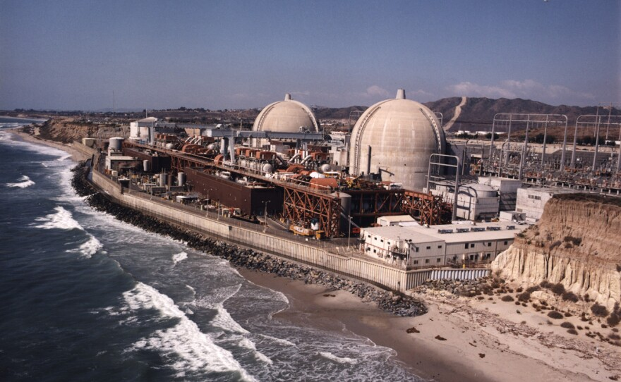 The San Onofre Nuclear Generating Station in northern San Diego County is shown in this undated photo.