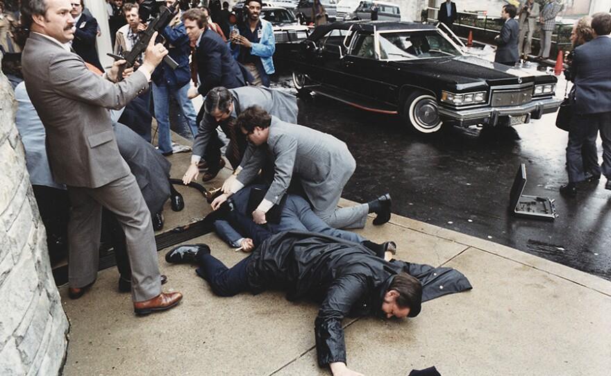 assassination attempt on President Reagan, March 30, 1981