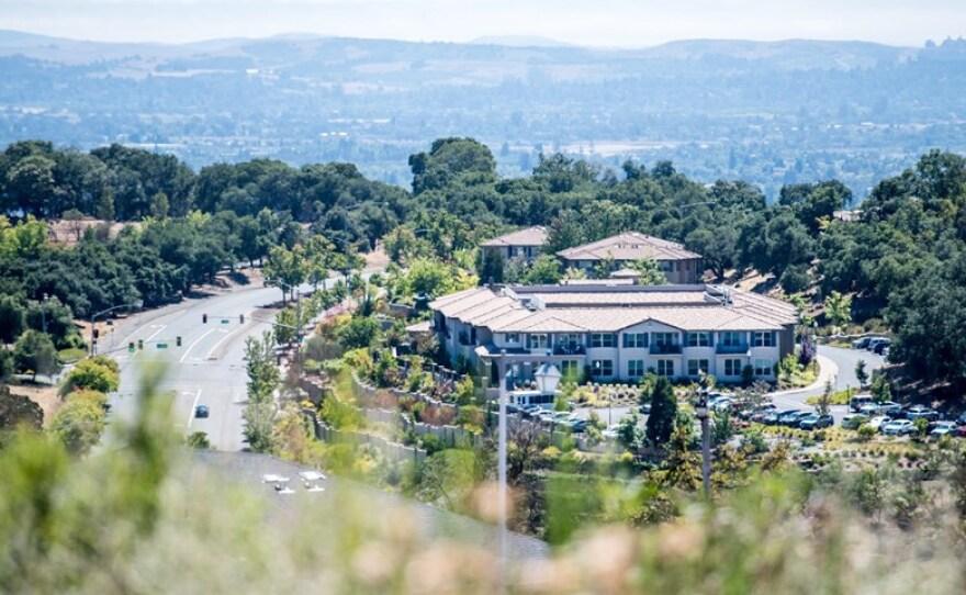 The Oakmont of Varenna nursing home and assisted living facility in Santa Rosa, July 29, 2020.
