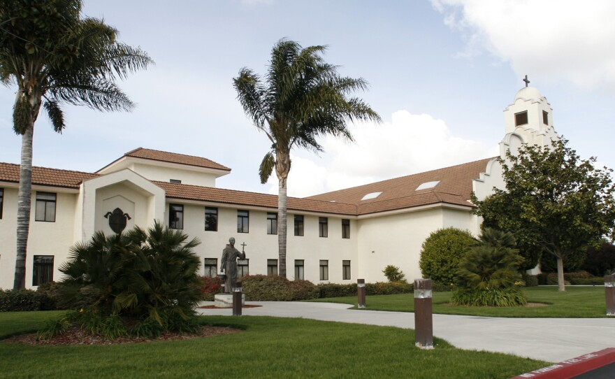 The San Diego Diocesan Pastoral Center, headquarters for the Roman Catholic Church in the San Diego Diocese, Tuesday, Feb. 27, 2007.