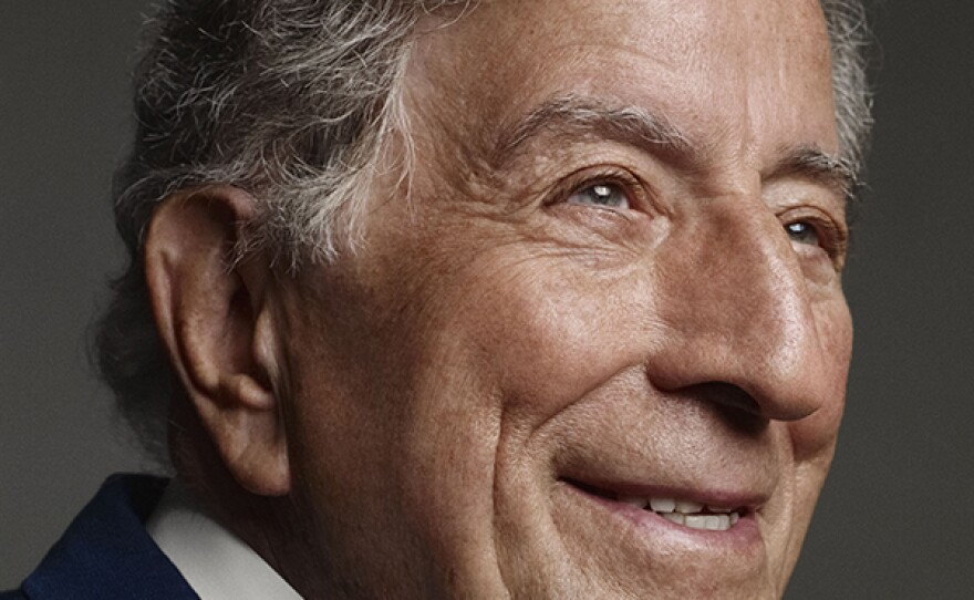Legendary singer Tony Bennett, the 2017 recipient of The Library of Congress Gershwin Prize for Popular Song.