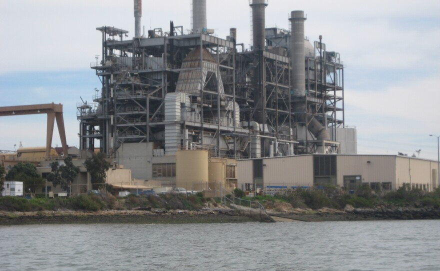 The South Bay Power Plant in Chula Vista is set to be demolished, after shutting down operations earlier this year.