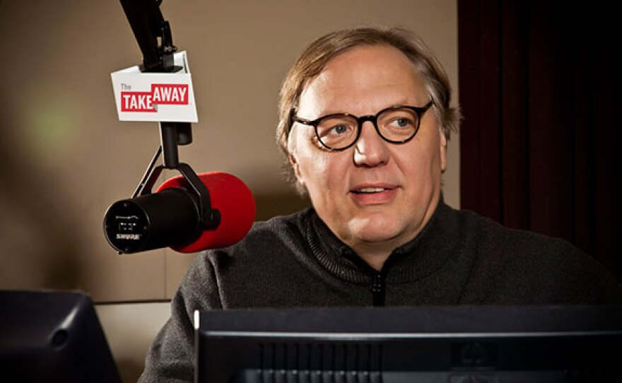 The Takeway host John Hockenberry.  The Takeaway airs Mondays-Fridays at 11 a.m. on KPBS Radio.