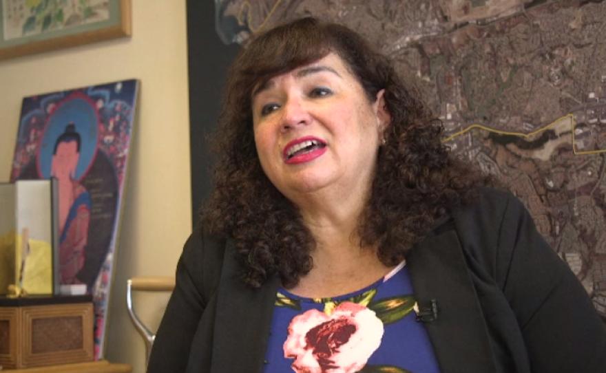 Oceanside city councilwoman Esther Sanchez, May 8, 2017