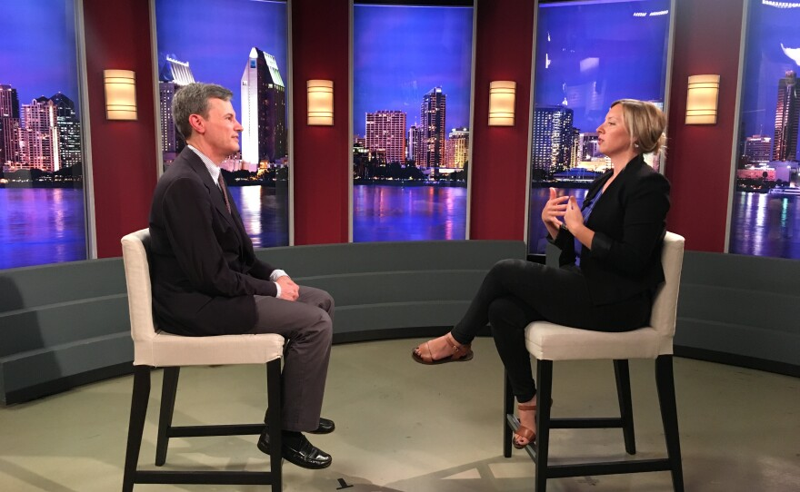 David Schlesinger, a federal appellate court attorney with Jacobs & Schlesinger LLP in San Diego, speaks with KPBS Reporter Tarryn Mento.