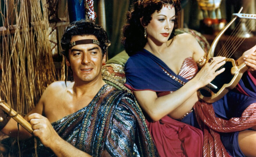 """Victor Mature and Hedy Lamarr star as """"Samson and Delilah,"""" which will screen on nitrate at this year's TCM Classic Film Festival."""