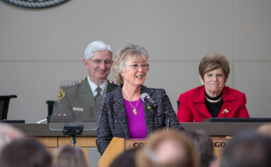 San Diego County Board of Supervisors Chair Dianne Jacob delivers 2014 State of the County Address