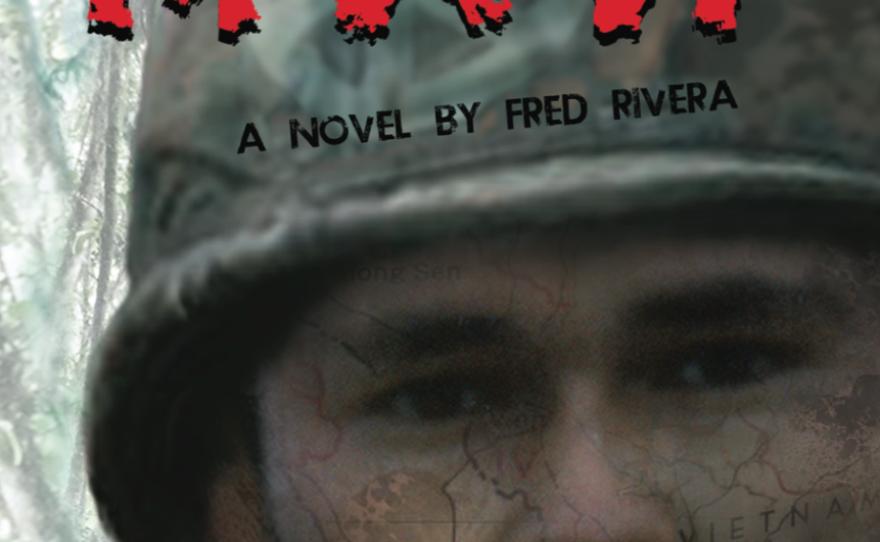 """Raw Man"" is a new novel by Vietnam War veteran Fred Rivera"