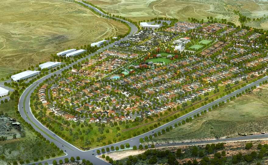 The Escaya development – the area affected by the methane and volatile chemicals – is part of Chula Vista's Otay Ranch development.