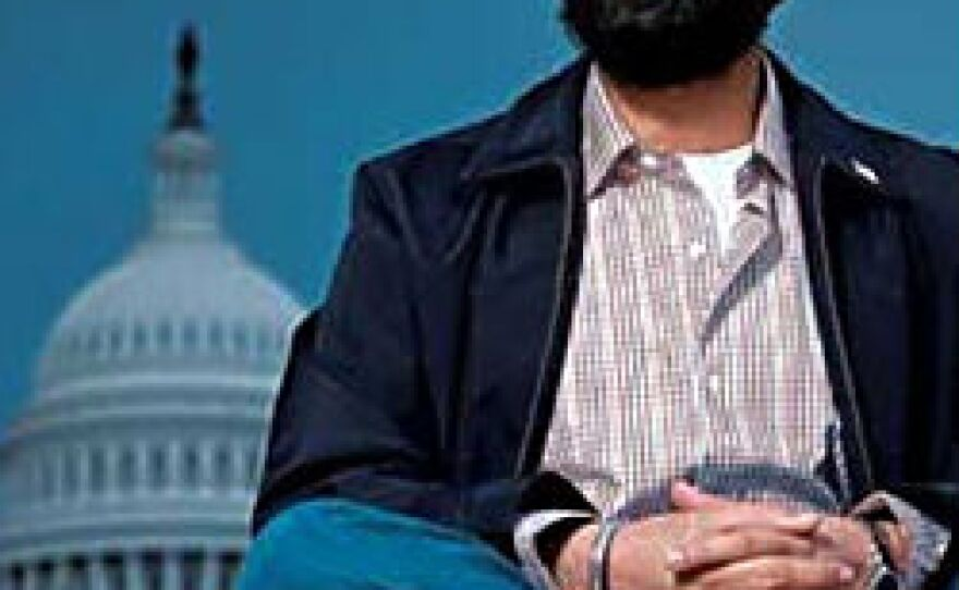 Ravneet Singh is shown outside the U.S. Capitol in this undated photo.