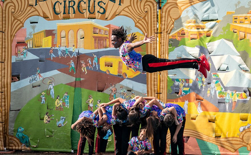 Fern Street Circus will present a free community show on Aug. 8, 2021 at 2 p.m.