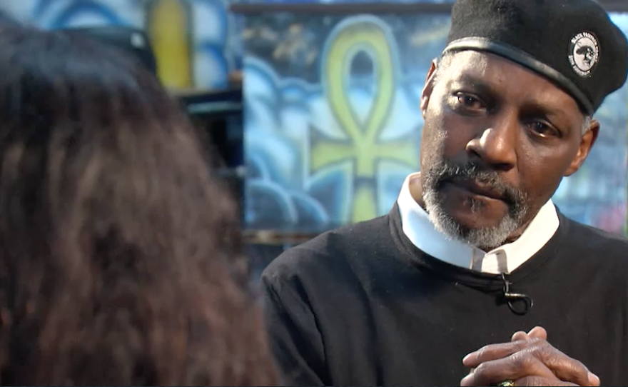 Education Minister Trunnell Price talks about why the San Diego Black Panther Party is reactivating, February 3, 2017.