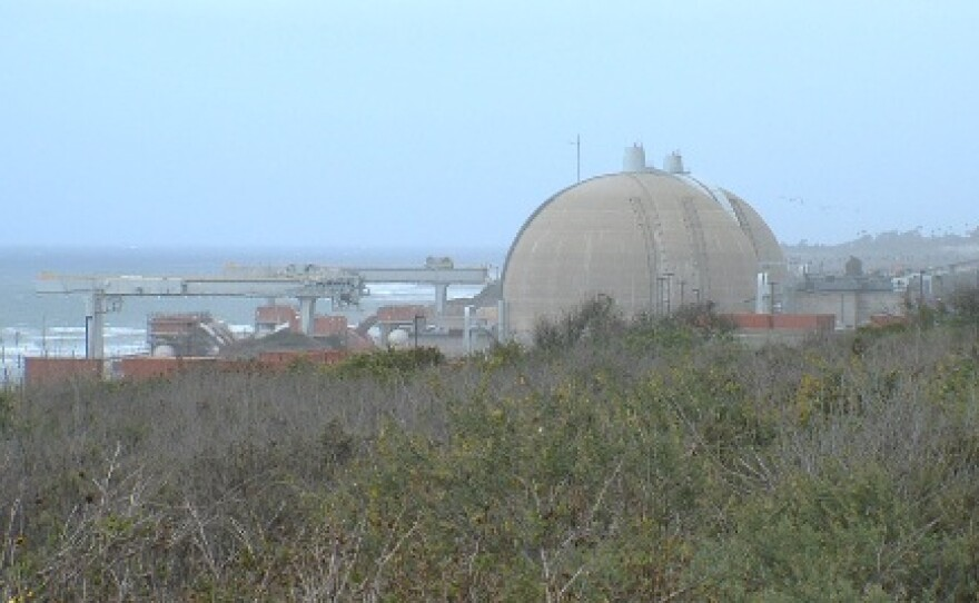San Onofre from the State Park, April 2013
