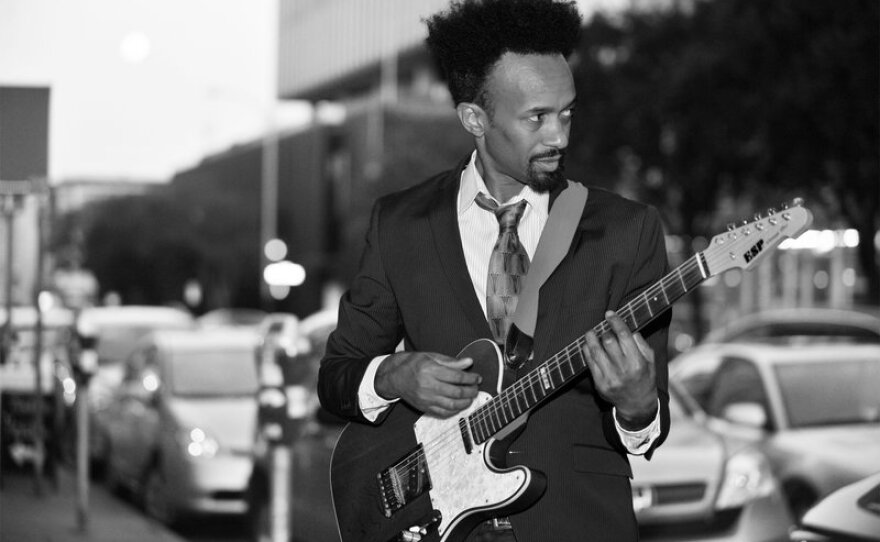 A portrait of Oakland musician Fantastic Negrito, winner of NPR's 2015 Tiny Desk Concert Contest. The 2016 contest entry period begins on Jan. 12.