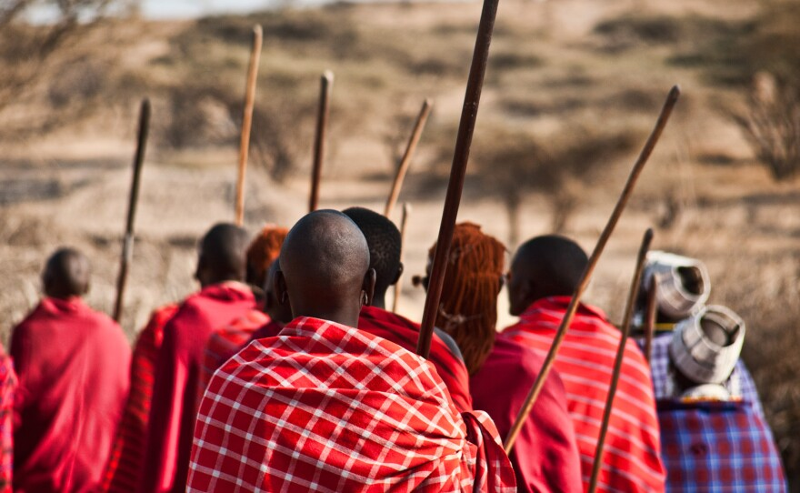 Maasai in Kenya are shown in this photograph from July 23, 2011.