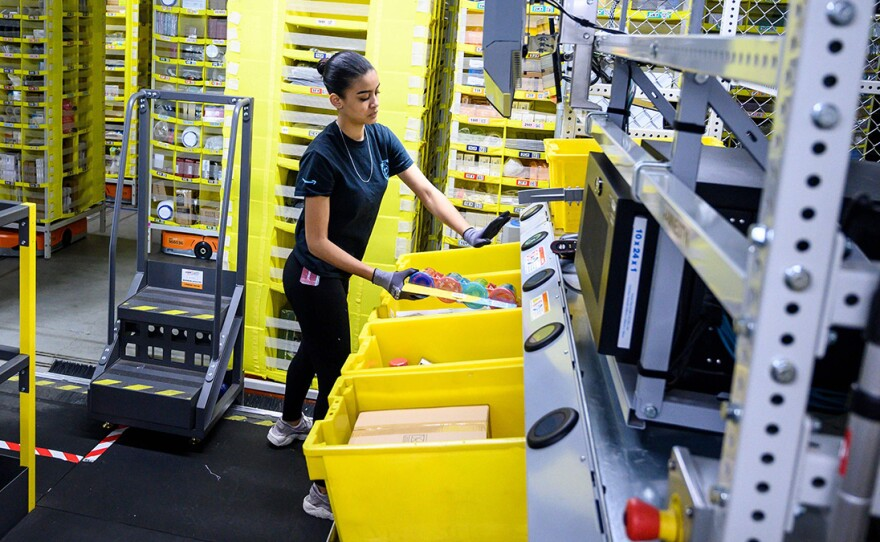 Amazon said it will invest $700 million to train 100,000 employees for higher-skilled jobs by 2025. Training programs will be offered to workers throughout all levels of the company.