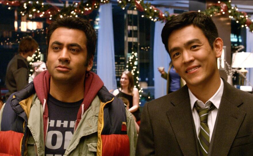 "Kal Penn and John Cho reunite for ""A Very Harold and Kumar 3D Christmas."""