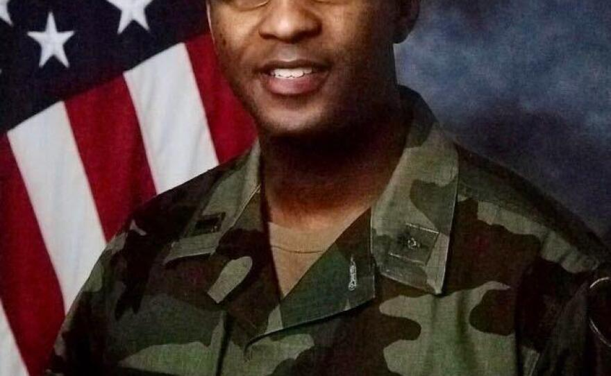 Jared McBride served in the Army for 22 years, rising to the rank of captain.