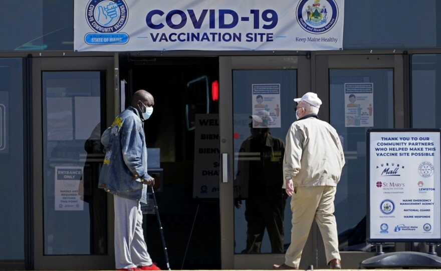 A drop in life expectancy in the U.S. stems from the coronavirus pandemic. A new study says Black and Hispanic people have been especially hard hit.