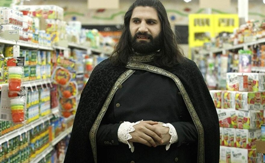 """Nandor (Kayvan Novak) is one of a group of vampires trying to live in contemporary Staten Island in the FX series """"What We Do In The Shadows."""""""