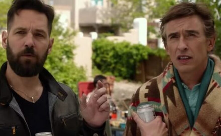 """Paul Rudd and Steve Coogan play a gay couple whose lives are disrupted by the arrival of a young boy in the comedy """"Ideal Home."""